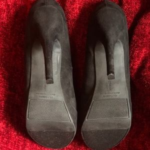 """LC Lauren Conrad Shoes - Lauren Conrad 5"""" Black Suede Heels That Slay 💓✨✨"""